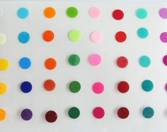 Plain Round Bindi Stickers ,Round Bindis,Colorful Bindis,Multicolor Face Jewels Bindis,Bollywood Bindis,Self Adhesive Stickers