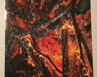 Burning 3M Vinyl