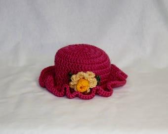 Rose Pink Beanie