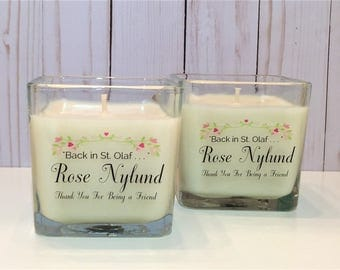 Golden Girls Candle – Rose Nylund – Pink Chiffon Fragrance – Soy Candle – Inspired By Golden Girls