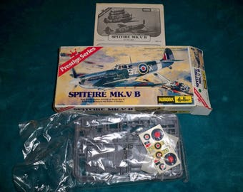 1/48 scale Spitfire MK VIII model airplane