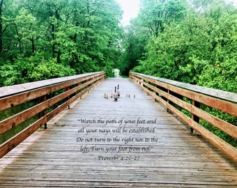 Proverbs 4:26-27 Photo