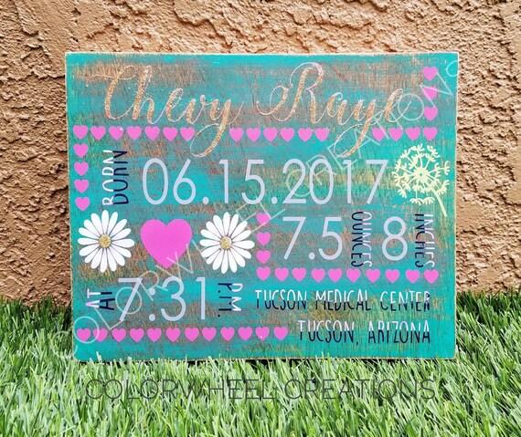 Custom Birth Announcement Signs – Birth Announcement Signs