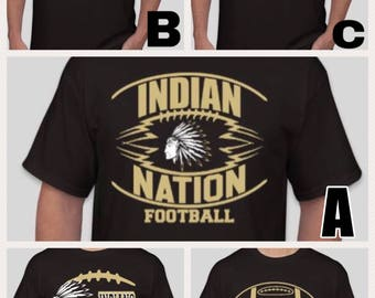 Marietta Indian Football local pickup listing only