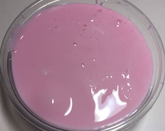 8oz Pink Fluffy Slime