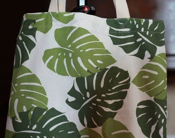 Monstera tote 2