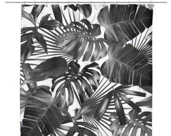 Wild Palm Shower Curtain