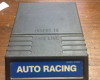 Intellivision Auto Racing Game