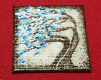 Miniature Blue Cherry Blossom