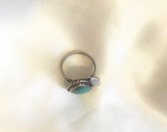Real Silver and Turquoise Ring