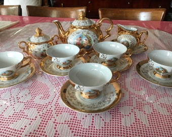 Vintage Bavaria Tea Set