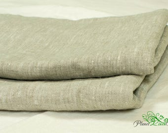 Linen flat sheet Queen flat sheet King flat sheet Twin Single Flax linen sheet Natural grey sheet Custom flat sheet