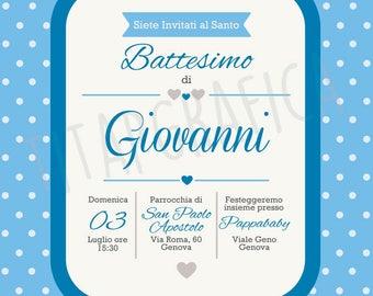 Invitation For Baptism Sms. Digital invitation for Baby baptism digital sending WhatsApp Baptism  Sms Etsy