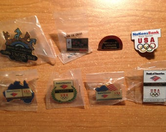 Olympic Insignia Collectible Pins