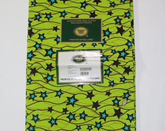 DeBokis Collection, Holland Real Veritable Dutch Wax,Vlisco Quality Fabric,6 yds