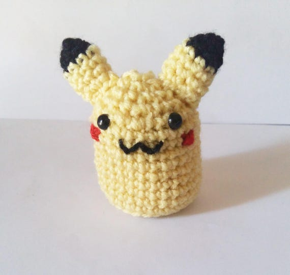 Pikachu amigurumi | pokemon amigurmi