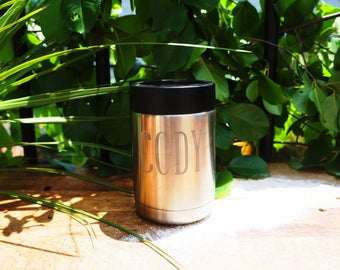 Personalized colster or Tumbler (Yeti, RTIC, or Ozark Trail)