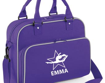 iLeisure Girls Personalised Air Jump Star Dance Bag.