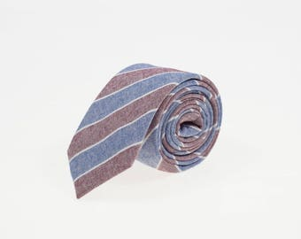 de MORÉ - casual striped tie