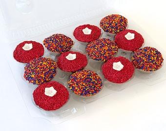 Red Flower Funfetti Package