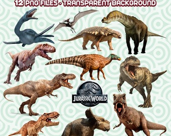 Jurassic Park PNG, Jurassic Clipart, Jurassic World Files, Dinosaurs PNG, Dinosaurs Images, Instant Download 13