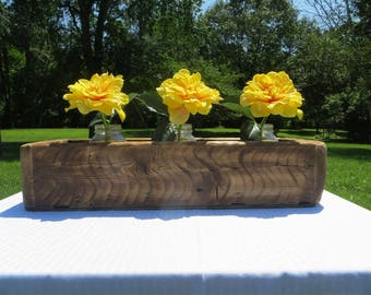 Rustic, Country Planter, centerpiece