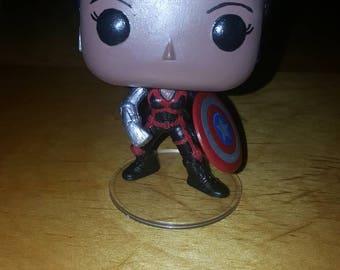 Misty Knight w/ Captain America Shield - # 103