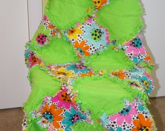 Flannel Rag Baby Quilt