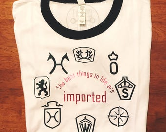 "The ""Imported"" Tee"
