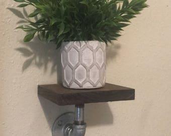 Industrial/ Rustic shelf