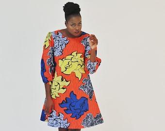Ankara Short Dress