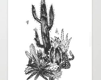 Ink Cacti