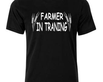 Farmer in Traning T-Shirt - available in many sizes and colors