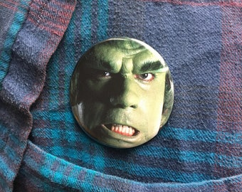 """Lou Ferrigno 2.25"""" Pin (One-Of-A-Kind)"""