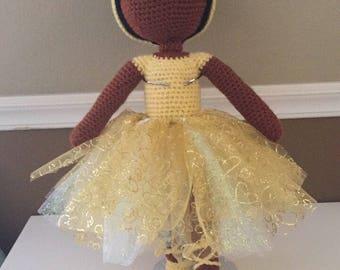 African American Ballerina Doll