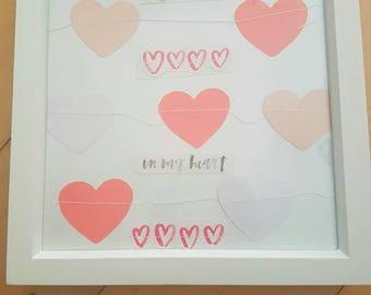 Photo frame Love box.
