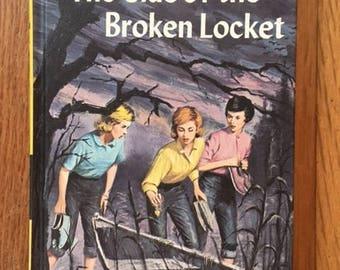 "Nancy Drew ""The Clue of the Broken Locket"" No. 11 Carolyn Keene 1986 Printing"