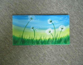 Dandelion Painting Etsy