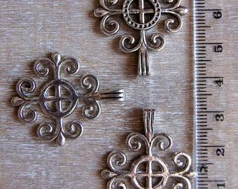Sterling Silver medium size
