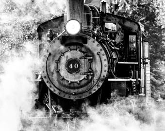 Black And White Photography - Steamed