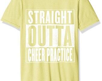 Cheer Practice T-Shirt - Straight Outta Cheer Practice Shirt