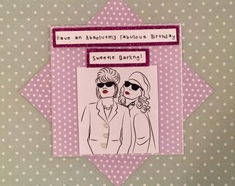 Absolutely Fabulous Card