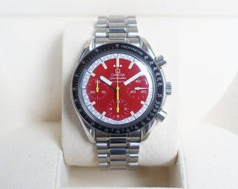 Omega Speedmaster REDUCED RED Dial