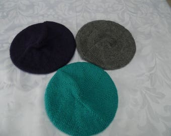 Beret baby colors to choose one size