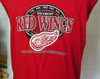 vintage Detroit Red Wings sleeveless t-shirt