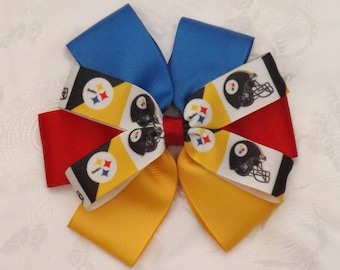 Pittsburgh Steelers Giant Flower Hair Bow