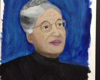 Portrait Rosa Parks