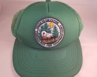 Adjustable Adult Vintage Boyscouts Trucker Hat