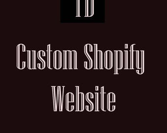 Custom Shopify E-Commerce Website Design