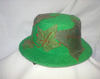 Poison Ivy Mini Top Hat